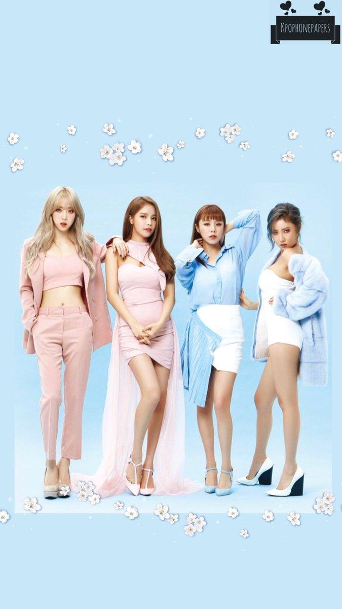 Idol Wallpapers On Twitter Mamamoo Lockscreen Wallpaper