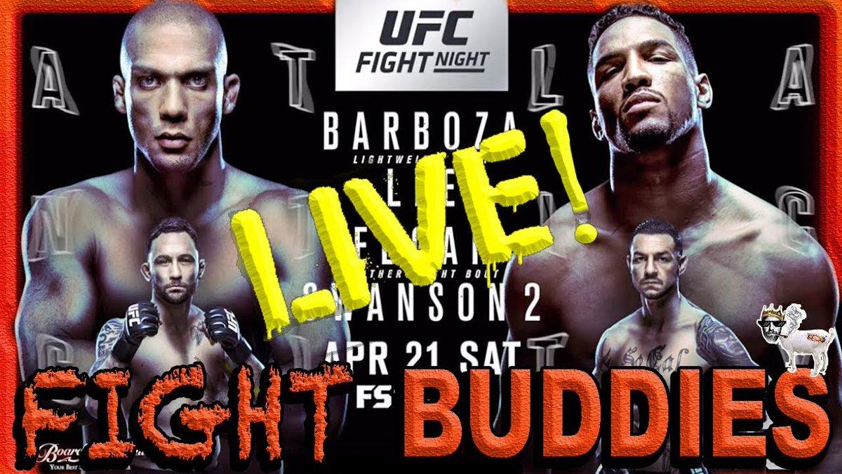 #MMA #FANS! #TONIGHT @8pEST ON @TheMMAholes #LIVE #PODCAST!   #UFCFIGHTNIGHT #UFC #BARBOZAvsLEE / #EDGARvsSWANSON 2 #REACTION #LIVESTREAM   HERE!   https://www. youtube.com/watch?v=YTsKwj QqfVE &nbsp; …   #TUNEIN #LIKE #SUBSCRIBE #UFCAtlanticCity #UFCAC #UFC225 #UFC224 #EDSONBARBOZA #KEVINLEE<br>http://pic.twitter.com/StPFmkkGvZ