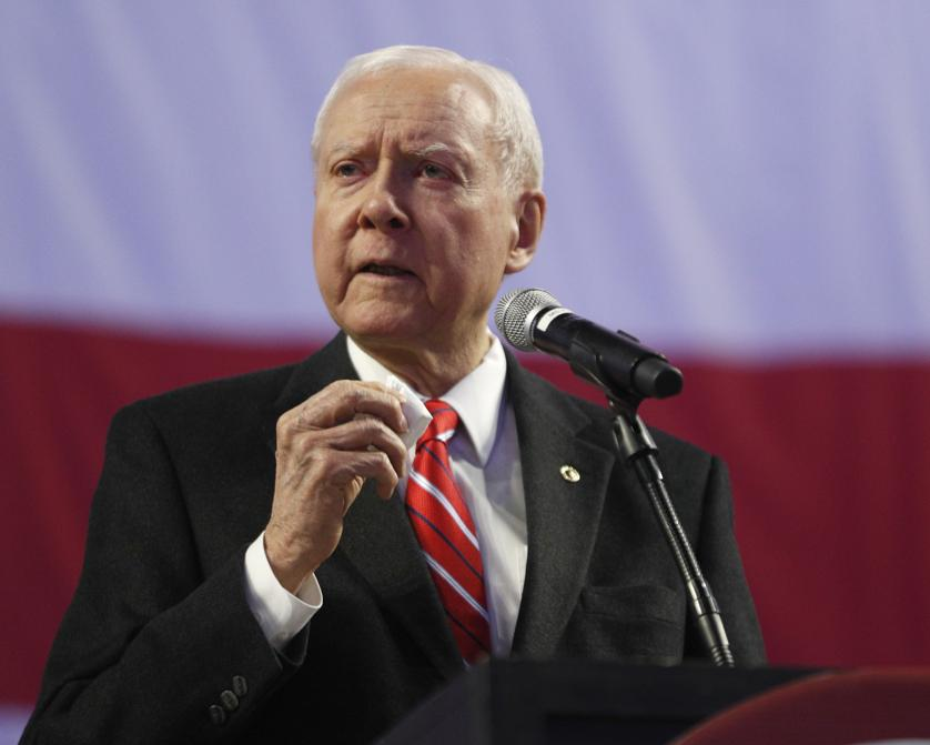 Retiring Sen. Hatch bids farewell to Utah Republicans https://t.co/lwy9Y4Ojeb