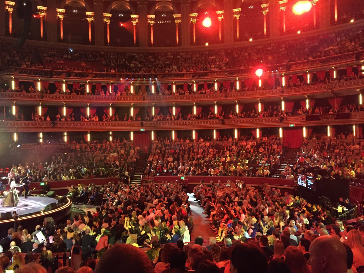 We're here at the @RoyalAlbertHall for the #QueensBirthday celebrations. Prince Harry and Meghan Markle are also in attendance for the party concert live on BBC One.