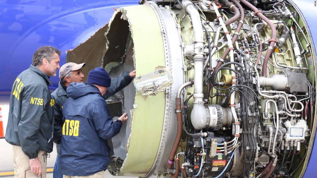 US, European aviation authorities order inspections after fatal Southwest engine failure cnn.it/2K5JDOI