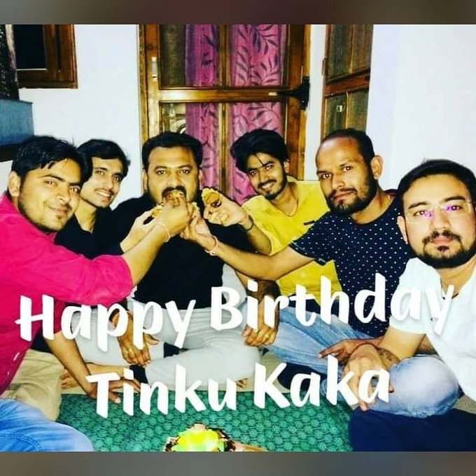 Happy Birthday Tinku Kaka