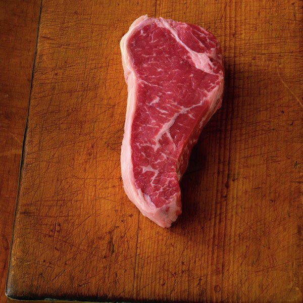 Cooking striploin meat cut
