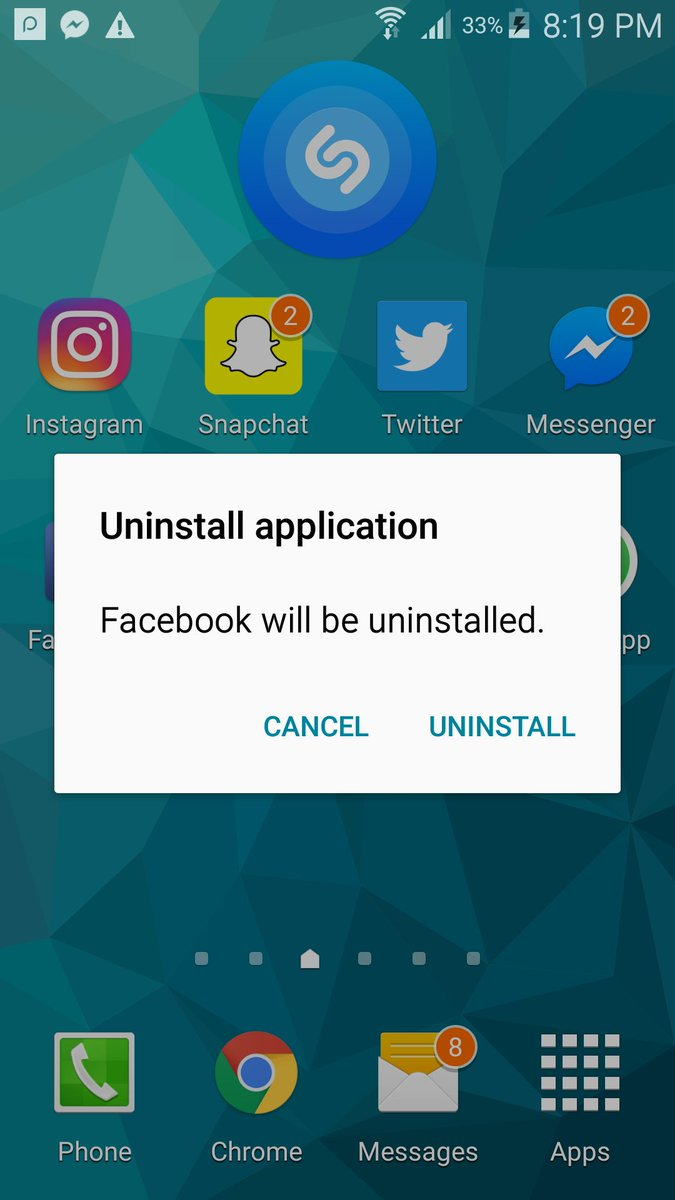 #deletefacebook This is my first step, soon deleting my account as well. If can do it, you can do it.