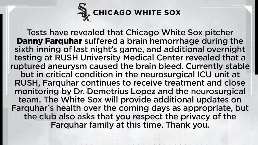 Chicago White Sox's photo on Danny Farquhar