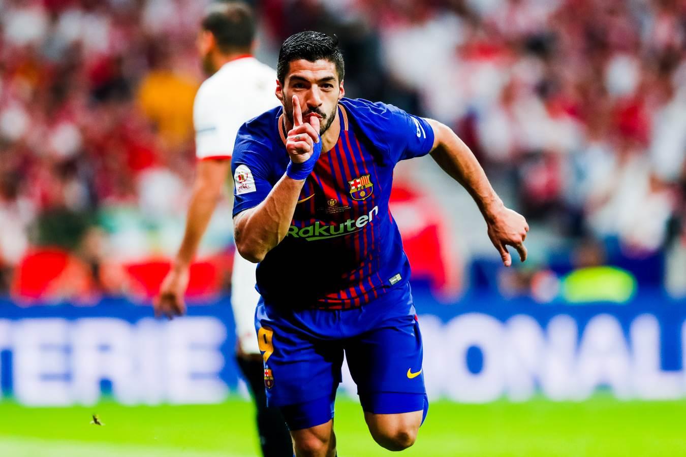هدف برشلونة الأول في مرمى إشبيلية