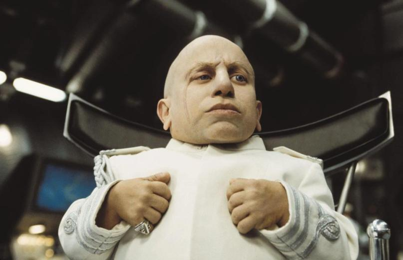 RIP Verne Troyer. The legend of Mini Me...