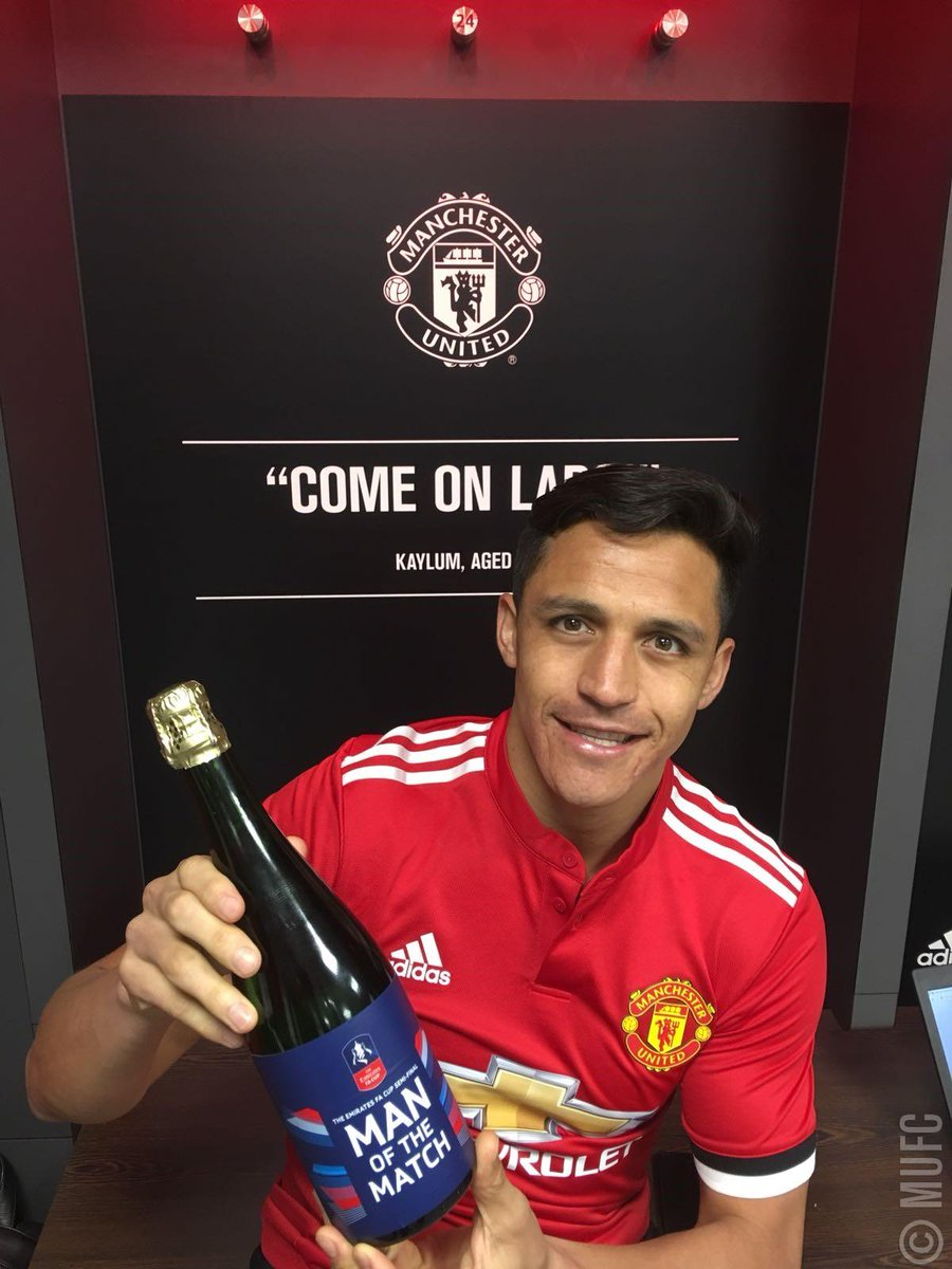 Huge performance from this man today.   Find out why @Alexis_Sanchez was #MUFC's Man of the Match: https://t.co/fpIeY2dMhx