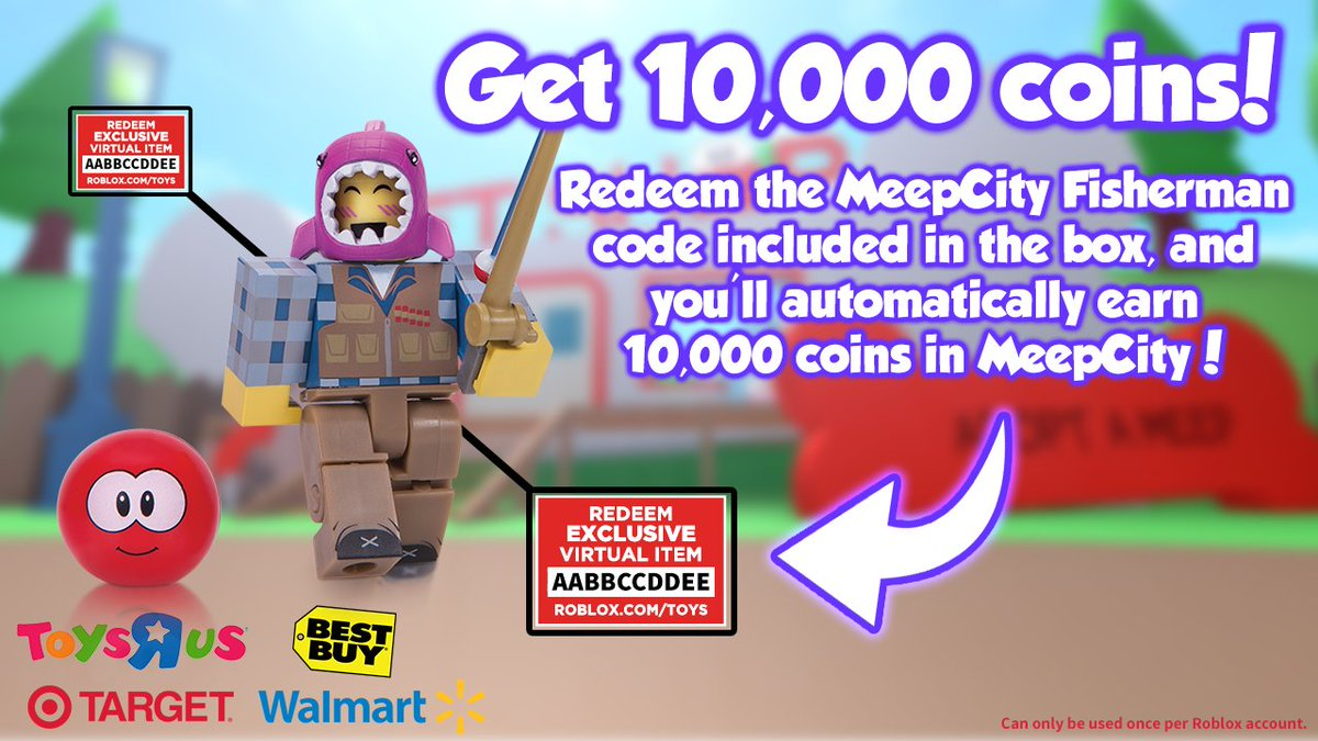 "Alexnewtron on Twitter: ""Redeem the code in the MeepCity ..."