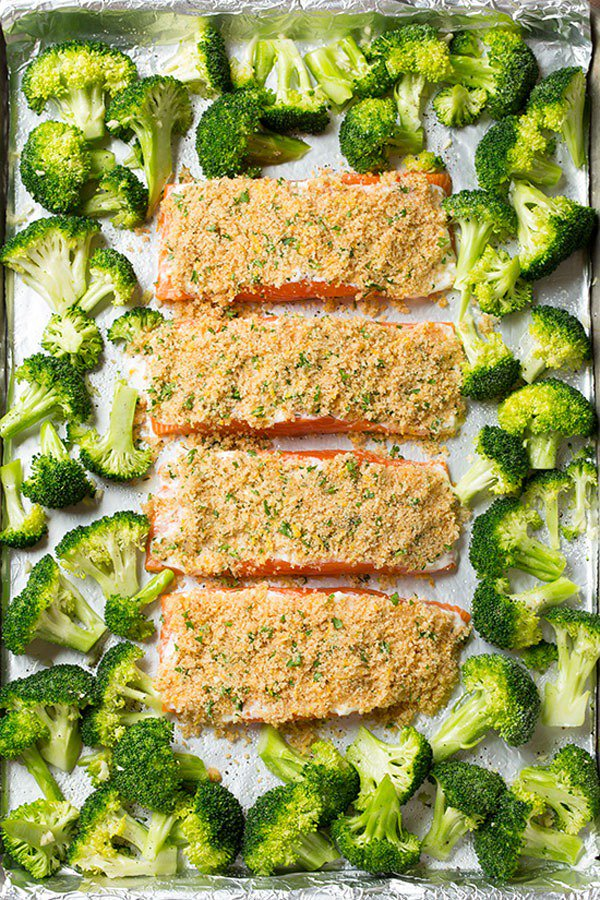 20 sheet pan suppers that help you drop the pounds: https://t.co/uZmCgC0eeg