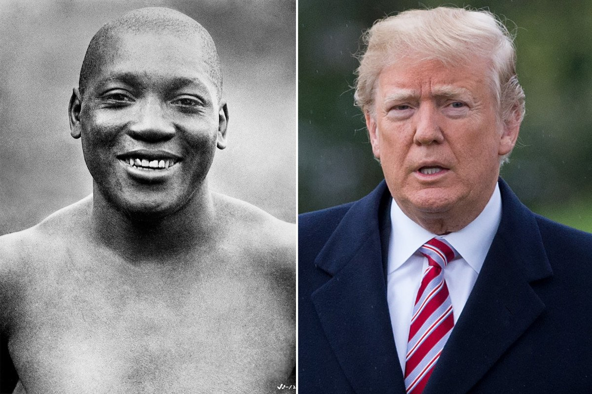 Trump considering pardon of late boxing champ Jack Johnson https://t.co/4oLG0CL6el