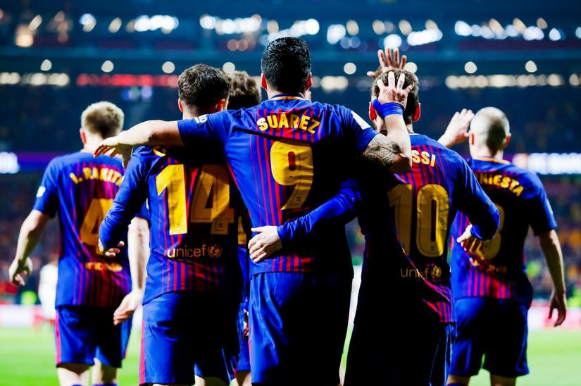 🕘 TERMINÉ !   SÉVILLE  0-5  BARCELONE  Le Barça réussit une 'manita' face au FC Séville et remporte la 30e Coupe du Roi de son histoire !