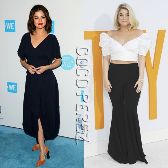 #SelenaGomez and #MeghanTrainor rightfully lead the way on our best-dressed list this week! See all our top picks HERE: https://t.co/yPVr8LlwMC