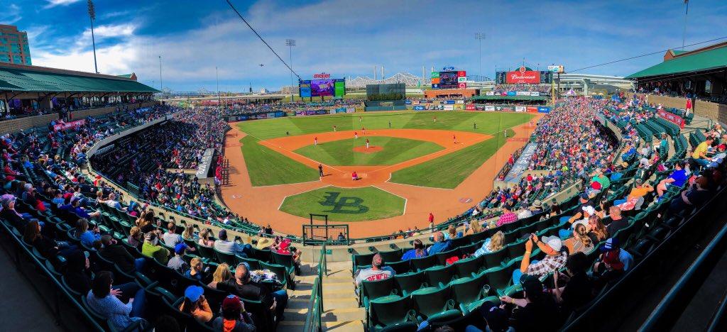 Louisville Bats On Twitter Record Breaking Attendance