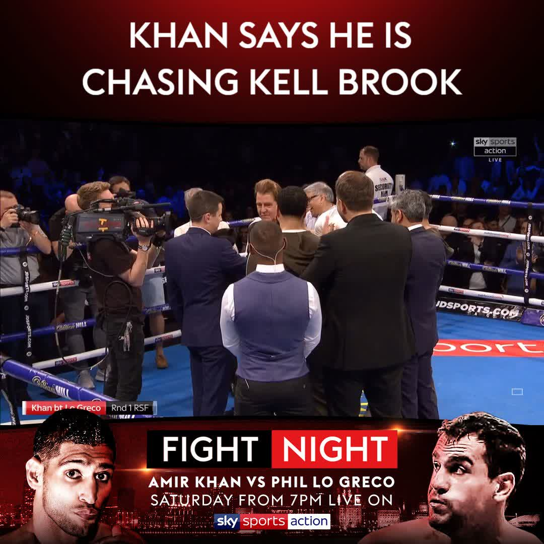 """Sky Sports Boxing On Twitter: """"WATCH: Amir Khan And Kell"""
