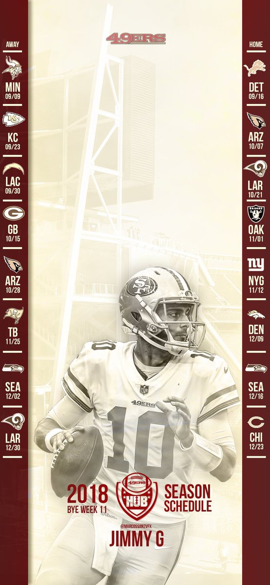 We have wallpapers for iPhone X, iPhone 6-8 and Android. Screenshot and send tweet it to us when you download it. Go Niners!pic.twitter.com/MEjf61elhH