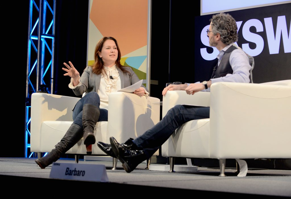 Have you listened to #Caliphate yet? Watch @rcallimachi and @mikiebarb discuss the @nytimes first documentary podcast series in this live edition of The Daily at #SXSW 2018! ow.ly/vhau30jzRsV