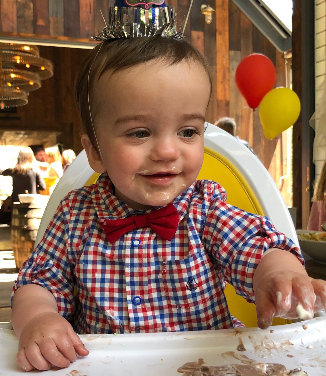 A yr ago today, God gave us this tough little boy. Today, we thank the nurses & doctors at @CedarsSinai & @ChildrensLA who saved his life & those who shared thoughts & prayers. We cannot stay quiet. Please wish Billy happy birthday by REGISTERING TO VOTE! vote.gov