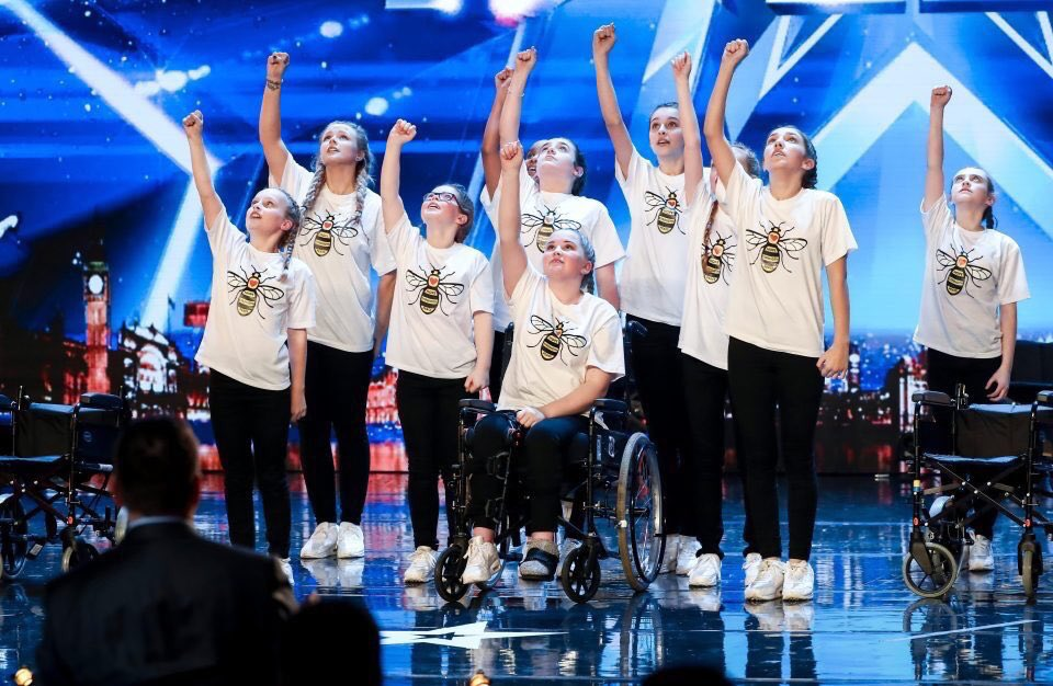 This was everything 🐝♥️ #BGT2018 https:/...