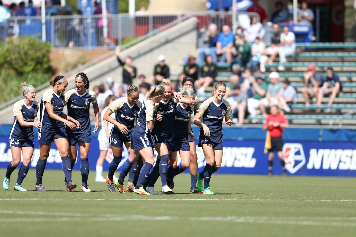 [FINAL SCORE]   NC Courage 2-2 Utah Roya...