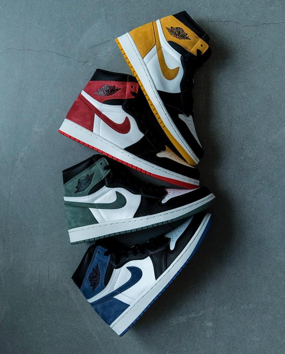 promo code e8727 09fb1 Which colourway is the best of the four  http   kicksdeals.ca news 2018 air- jordan-1-best-hand-game-collection  …pic.twitter.com jPWyLzWdmD