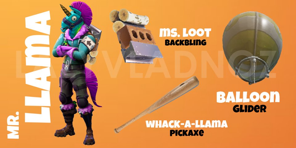 Fortnite Memes Daily On Twitter Quot Skin Concept Mr Llama
