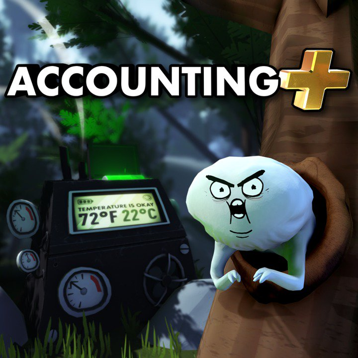 In the mood to play a skeleton xylophone or get screamed at by a crazy guy who lives in a tree? Accounting Plus for PS VR, now just $8.39 at PS Store. https://t.co/3dEVb1csew