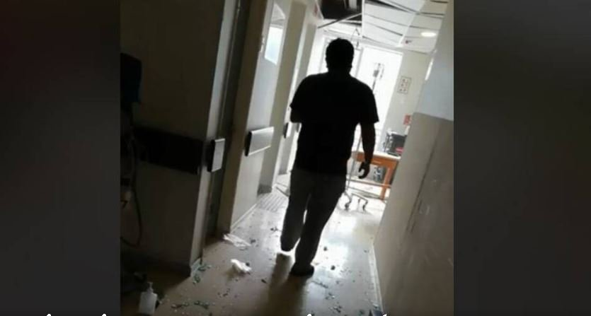 Estaba en el baño y ocurrió la explosión: Paciente graba cómo se vivieron los primeros momentos tras el siniestro, al interior del Sanatorio Alemán https://t.co/PpfCv9Ruri