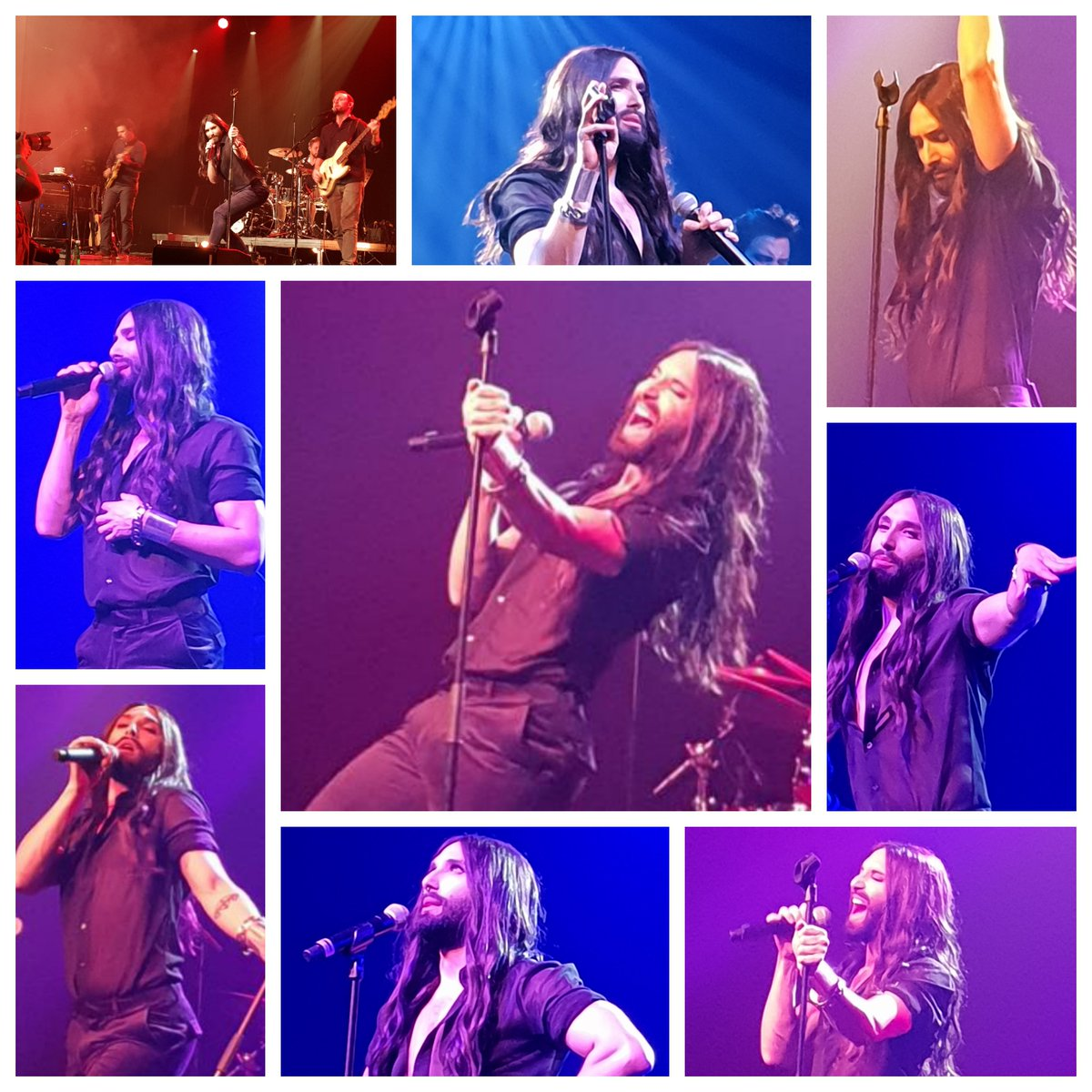 Some impressions of #ConchitaLIVE #Spielberg #Austria 14.04.2018  https://www. youtube.com/watch?v=gwI2RL gGxvo &nbsp; …  Upcoming events #Conchita #ConchitaWurst  http://www. conchitawurst.com / &nbsp;    Pics: Snowowl<br>http://pic.twitter.com/ejRoOLhDLR