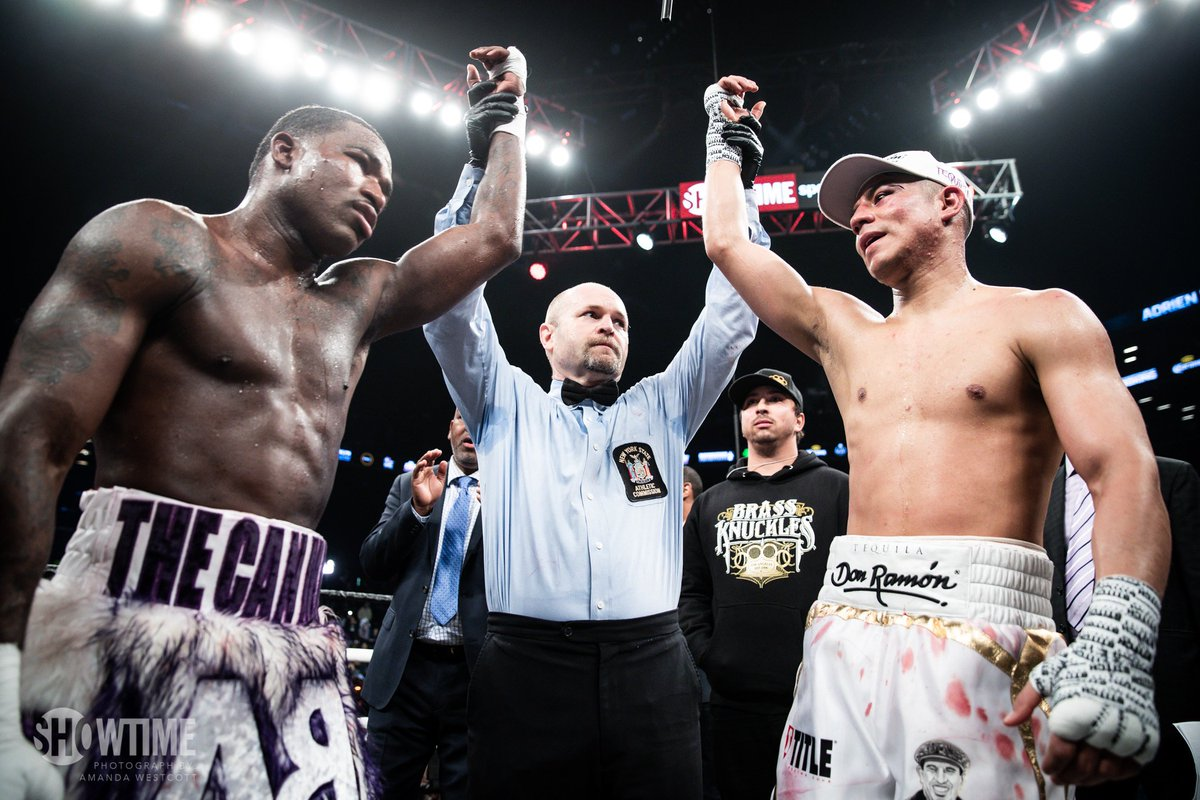 After a hard-fought 12 rounds, #BronerVa...