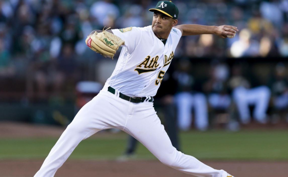 Athletics pitcher Sean Manaea pitches no-hitter against streaking Red Sox https://t.co/xoVcWcKNy9
