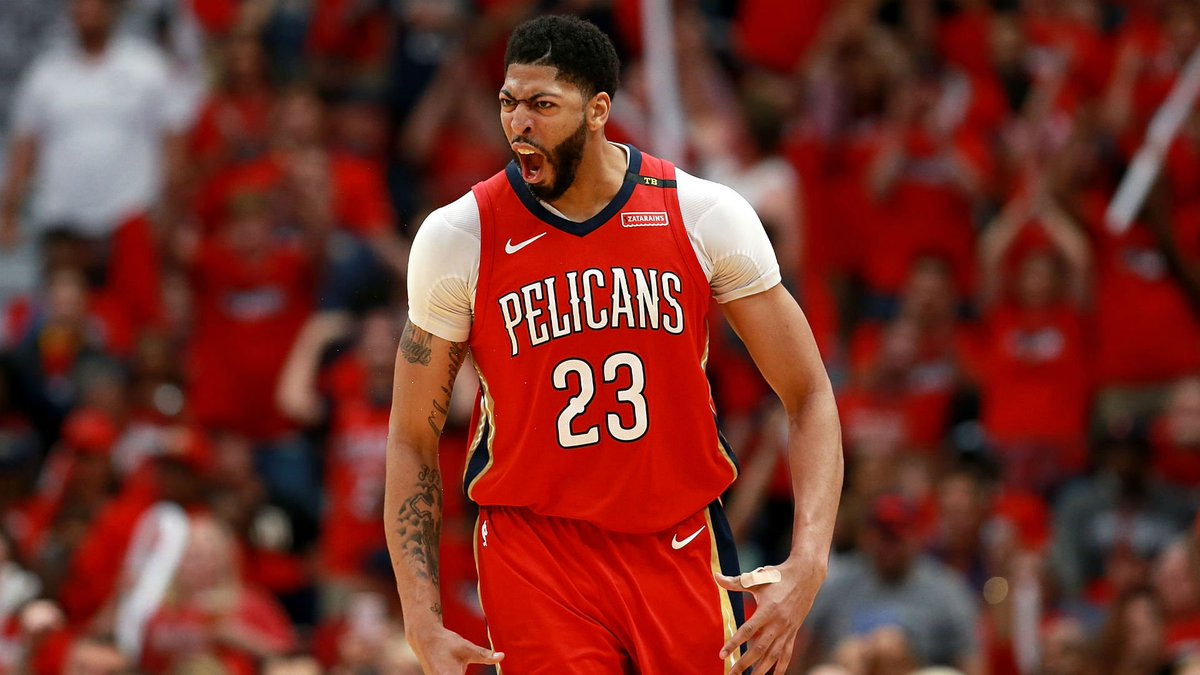 IT'S A SWEEP!   Anthony Davis (47 points, 11 rebounds) and Jrue Holiday (41 points, 8 assists) lead the Pelicans past the Trail Blazers.  Game 4 stats: https://t.co/uzVtb2CgxM