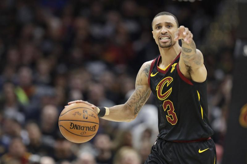 George Hill questionable for Game 4 after MRI on back shows nothing major ble.ac/2HRweJq