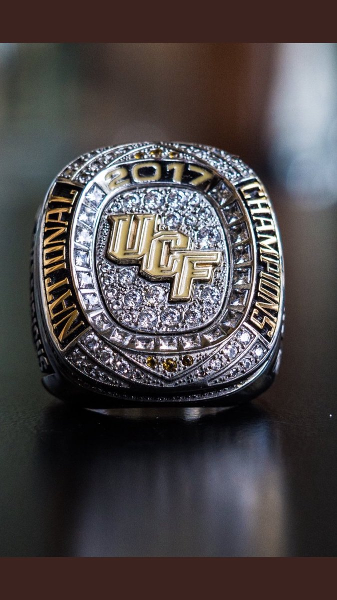 UCF also gave their players national championship rings 😂