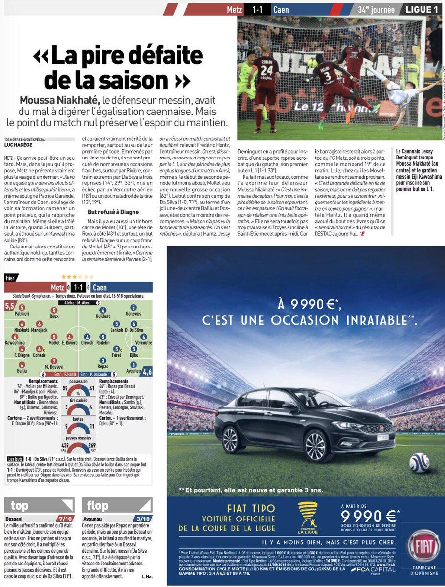 [34e journée de L1] FC Metz 1-1 SM Caen  DbWWlWNX0AE_24G