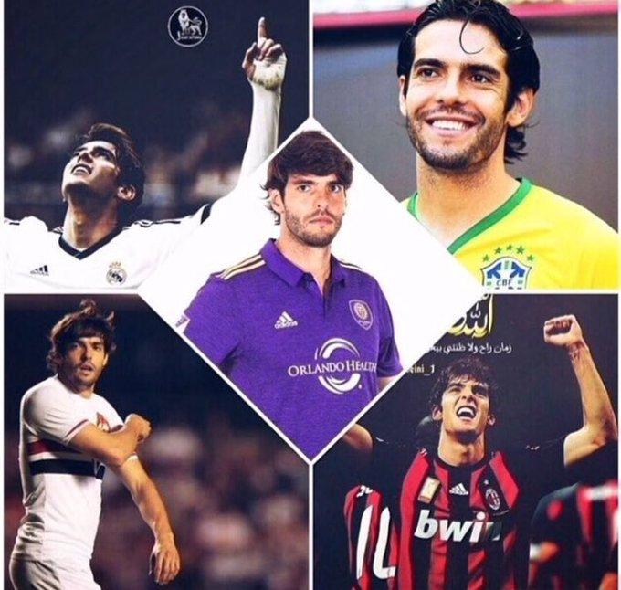 Happy birthday, Kaká.                         ,
