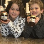 Grandma Jones Pepper Jam - Great Grandchildren Lauren and Jackson Jones