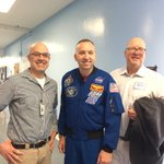 Image for the Tweet beginning: Astronaut Randy Bresnik, Samohi Class