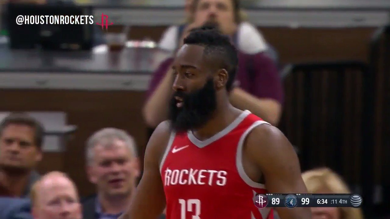 .@JHarden13 battled in a tough loss vs. the Timberwolves.   �� 29pts   �� 7ast   �� 7reb   Highlights ⤵️ https://t.co/bCbPlzFxnI