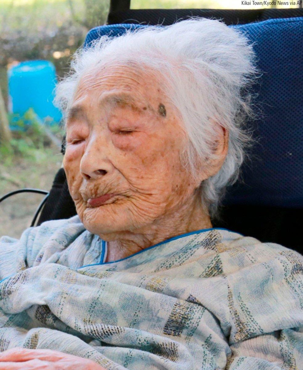Nabi Tajima, world's oldest person, dies in Japan at age of 117 https://t.co/QSMeJSZtzz