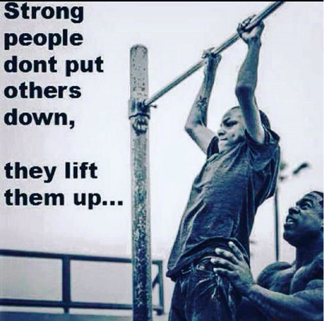 When we lift others We also raise Oursel...