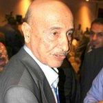 Image for the Tweet beginning: #Libye Khaled Mechri, président du
