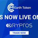 Image for the Tweet beginning: Earth Token is now LIVE
