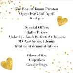 Image for the Tweet beginning: #beautysalon #openevening #relaunch #specialoffers #beauty