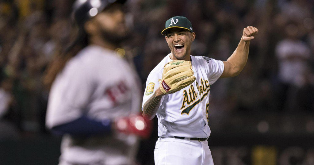 Oakland A's Sean Manaea pitches no-hitter against Red Sox https://t.co/Yvw9aNQy7q