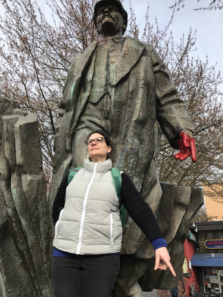 Controversial Lenin statue is from Slovakia. The land of half my people. Oh Seattle. Vancouver but weirder.