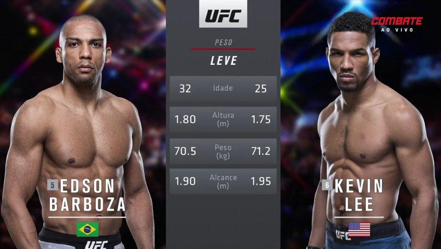 IIIIT'S TIIIIMEEE! O octógono vai ferver com a luta principal entre @EdsonBarbozaJR e @MoTownPhenom! 👊 #UFCnoCombate