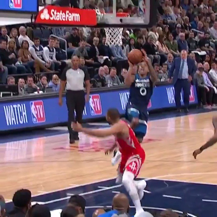 Jeff Teague records 23 PTS, 8 AST to pace the @Timberwolves in Game 3 at home! #AllEyesNorth #NBAPlayoffs https://t.co/Sho54VRMM4