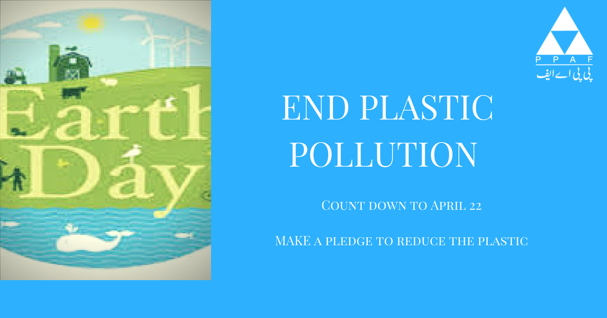 On this #EarthDay Let&#39;s make a pledge to end #plasticpollution. Take action to save the planet. #restoringhope,#securingthefuture #endingpoverty<br>http://pic.twitter.com/sMQ4k94H1V