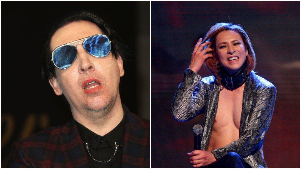 Marilyn Manson will join X Japan for Coa...